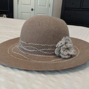 Anthropologie Hat - Italian made